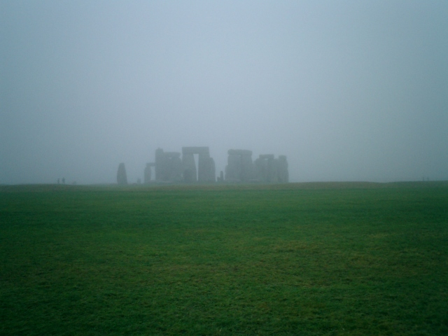 Stonehenge view from distance