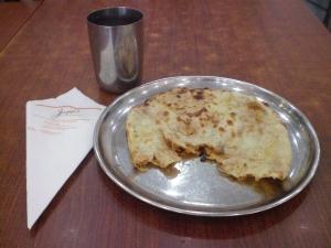 Jaggi's Onion kulcha