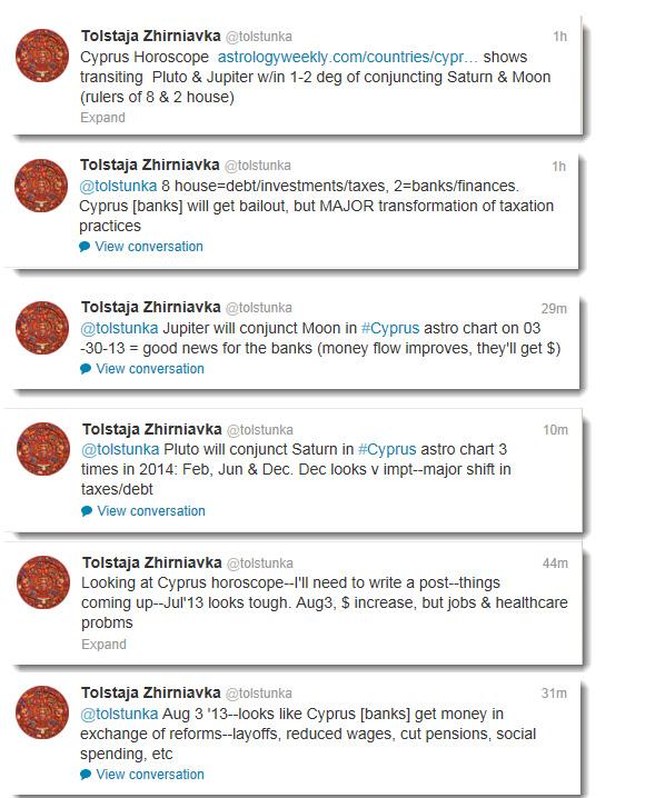 Cyprus tweets (03.18.13)